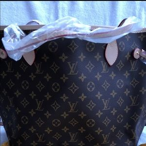 Monogram style Neverfull bag, brand new with tags